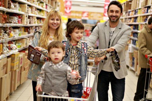 1.スーパーで買い物をするようにする!