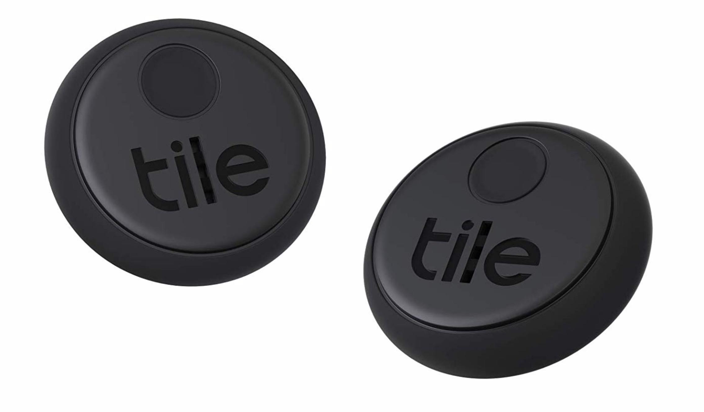 Tile Sticker (2020) 2個パック 探し物/スマホが見つかる 紛失防止 日米シ